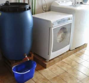 Economize água com a sua lavadora