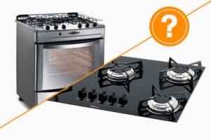 Fogão convencional ou Cooktop: qual escolher?